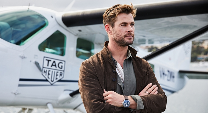 Chris Hemsworth X TAG Heuer
